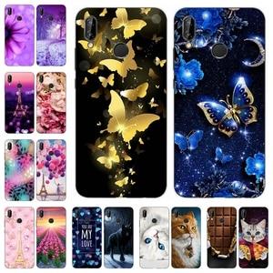 Image 1 - TPU For Huawei P20 Lite Case Luxury Nova 3E Case Cute Silicone Soft Cover For Huawei P 20 lite Nova 3 E Back Cover Phone Cases