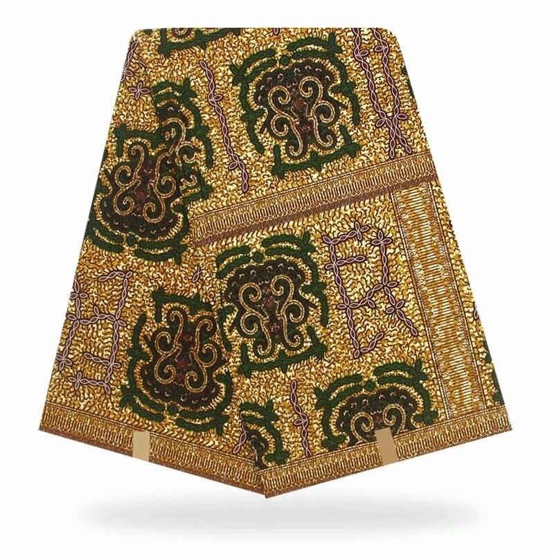 Véritable cire hollandaise garantie haute qualité cire hollandaise batik 6yards tissu africain ankara à coudre pour tissu à coudre