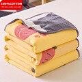 WOSTAR 6 слоев хлопковой марли муслин одеяло с геометрическим принтом, супер мягкие удобные летние тонкое одеяло для взрослых и детей диван-кро...