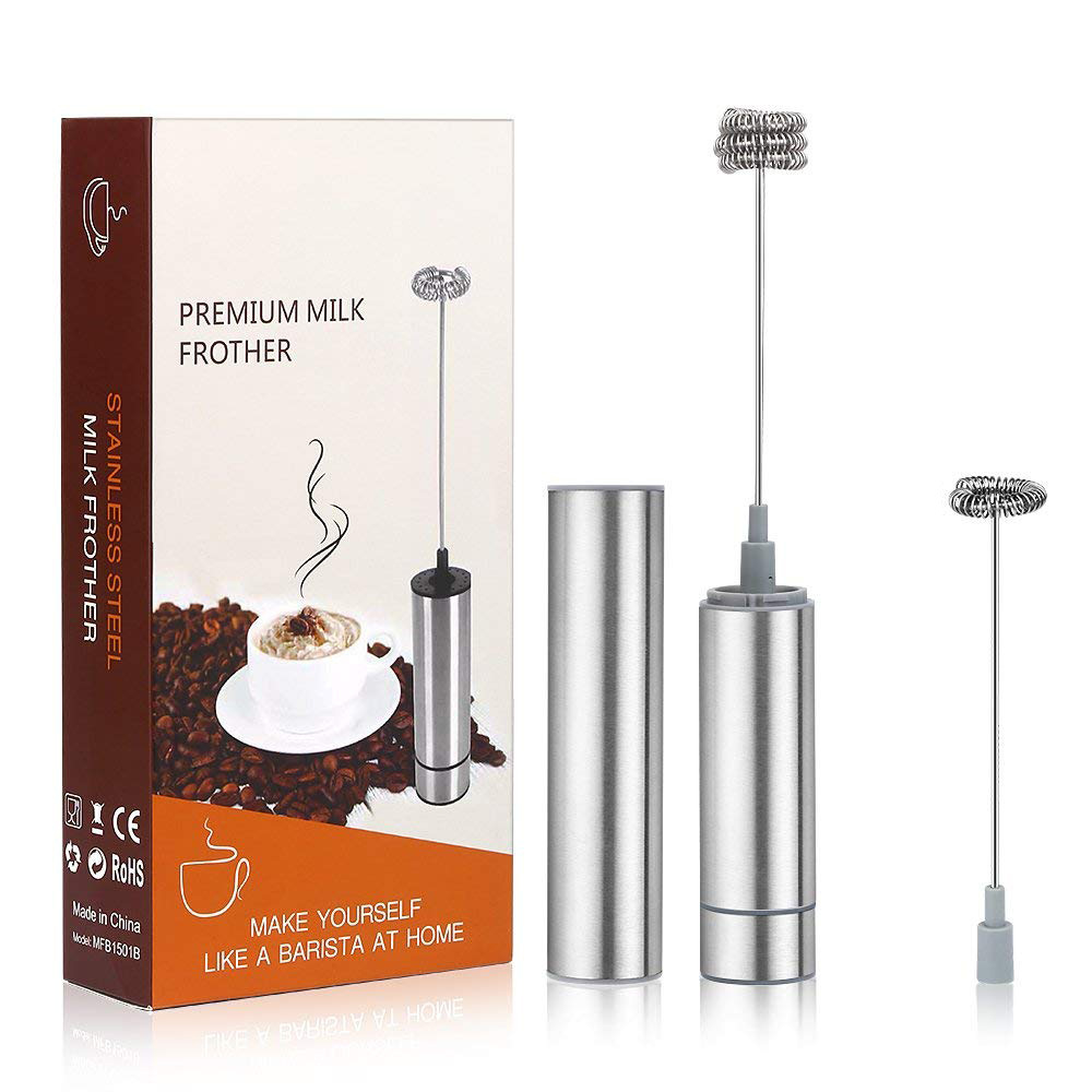 Handheld Electric Milk Frother Egg Beater Blowing Agent Coffee Blender Portable Mini Foam Maker Milk Foamer Cappuccino Maker