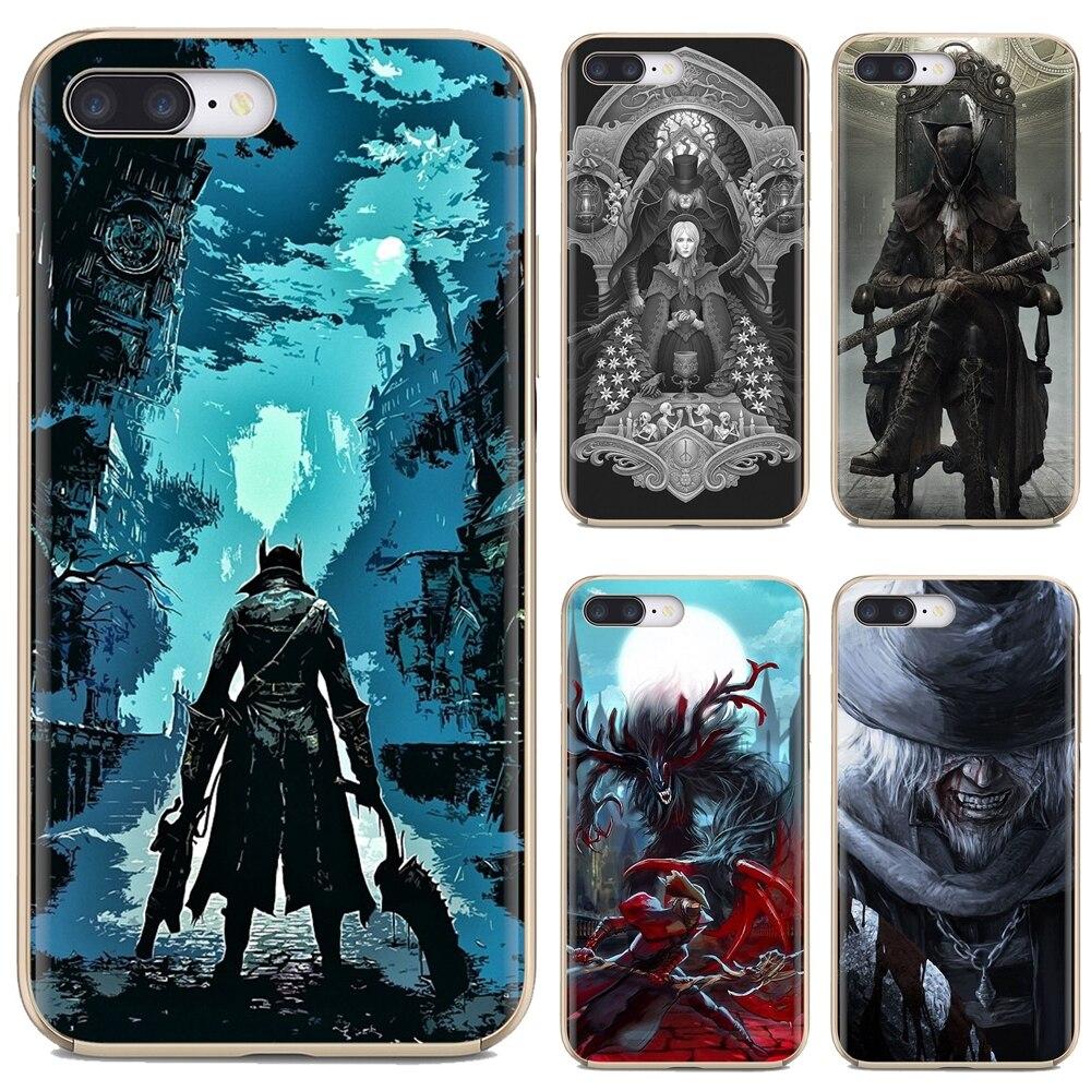 Bloodborne Platinum arts Buy Silicone Phone Case For iPhone 11 Pro 4 4S 5 5S SE 5C 6 6S 7 8 X 10 XR XS Plus Max For iPod Touch(China)