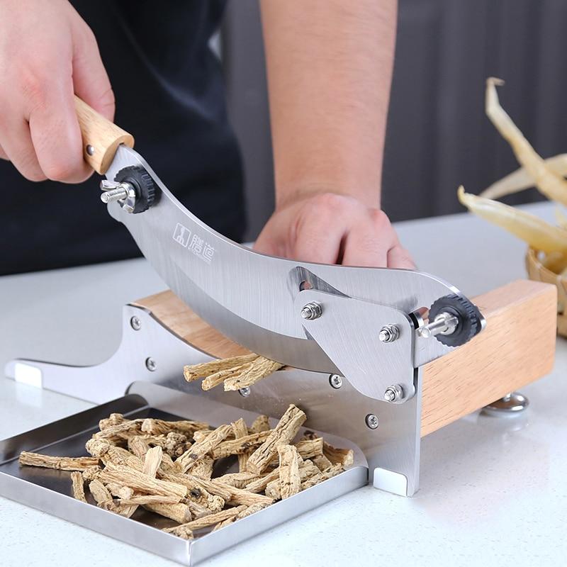 Slicer Ginseng Fish Gel Maca Cutting Machine Ganoderma Antler Cutter Machine Chinese Herbal Medicine Sanqi Hay Cutter Slicer