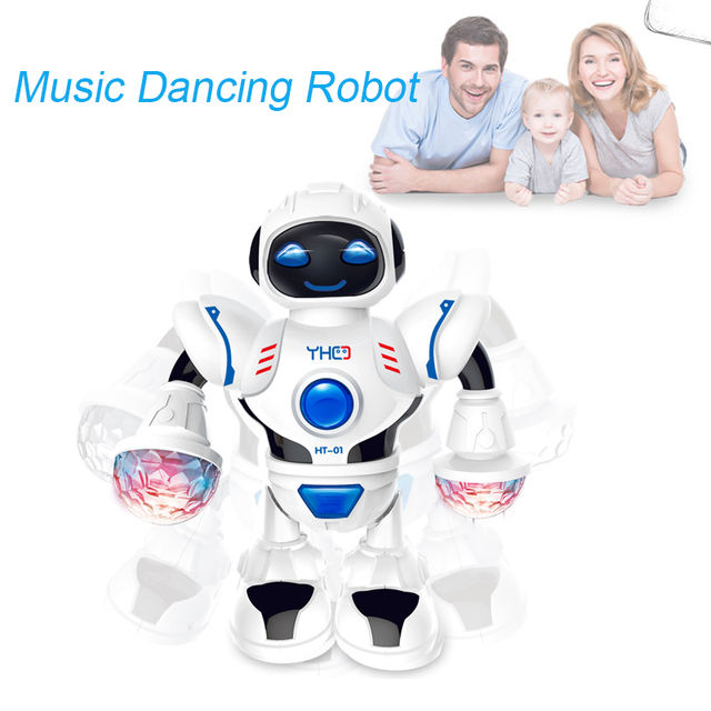 Space Dazzling Music Robot