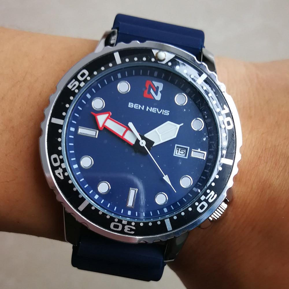 Fashion Luxury Brand Military Watch Men Waterproof Silicone Quartz Sport Wrist Watch for Men Relogio Masculino