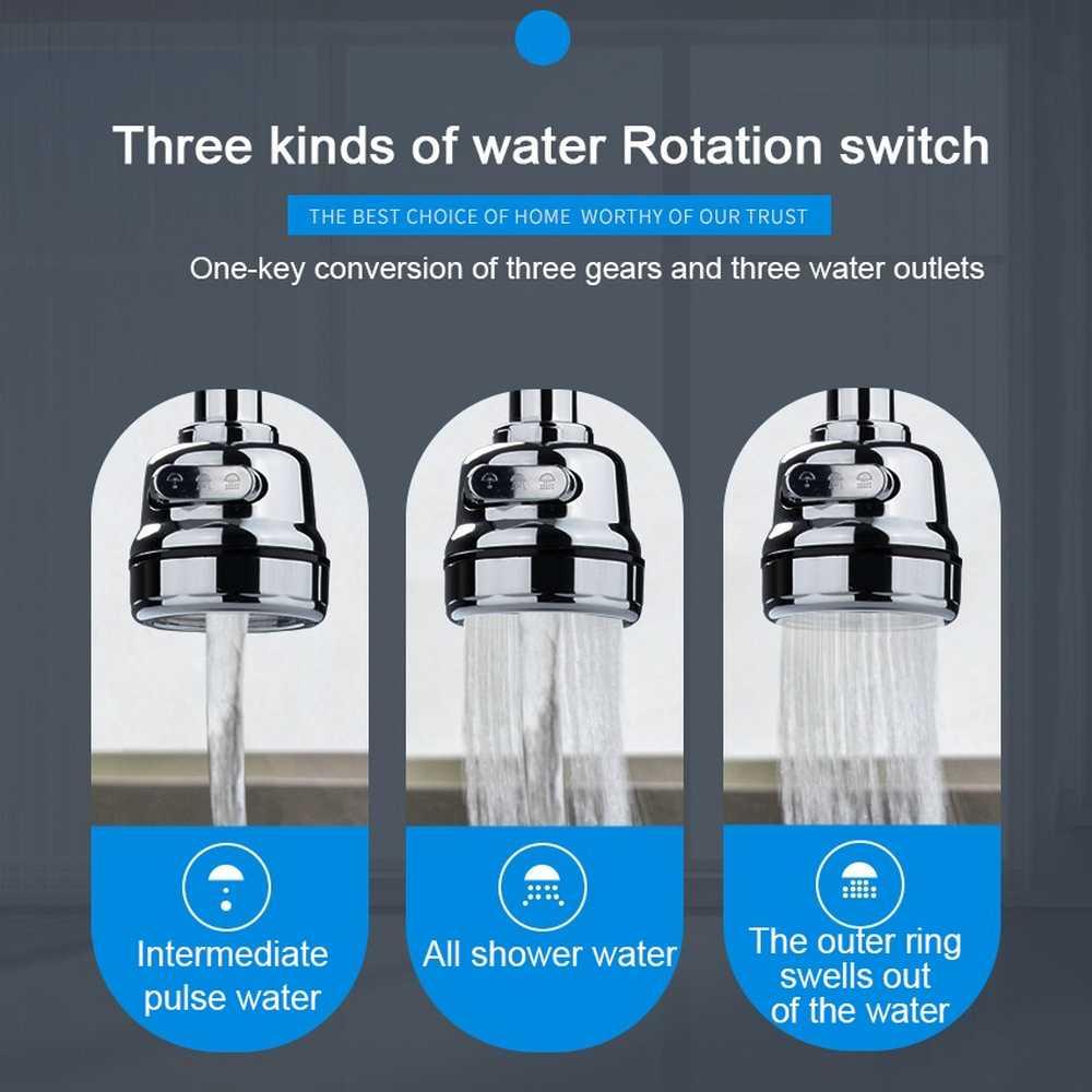 Keukenkraan Douche Tap 360 Draaien Aanpassen Waterbesparende Douchekop Keuken Armaturen Kraan Gefilterd Voor Kraan Accessoires
