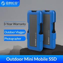 Внешний жесткий диск ORICO, ТБ SSD 128 ГБ 256 ГБ 512 ГБ M.2 NVME SSD NGFF SSD Портативный твердотельный накопитель с USB 3,1 type C