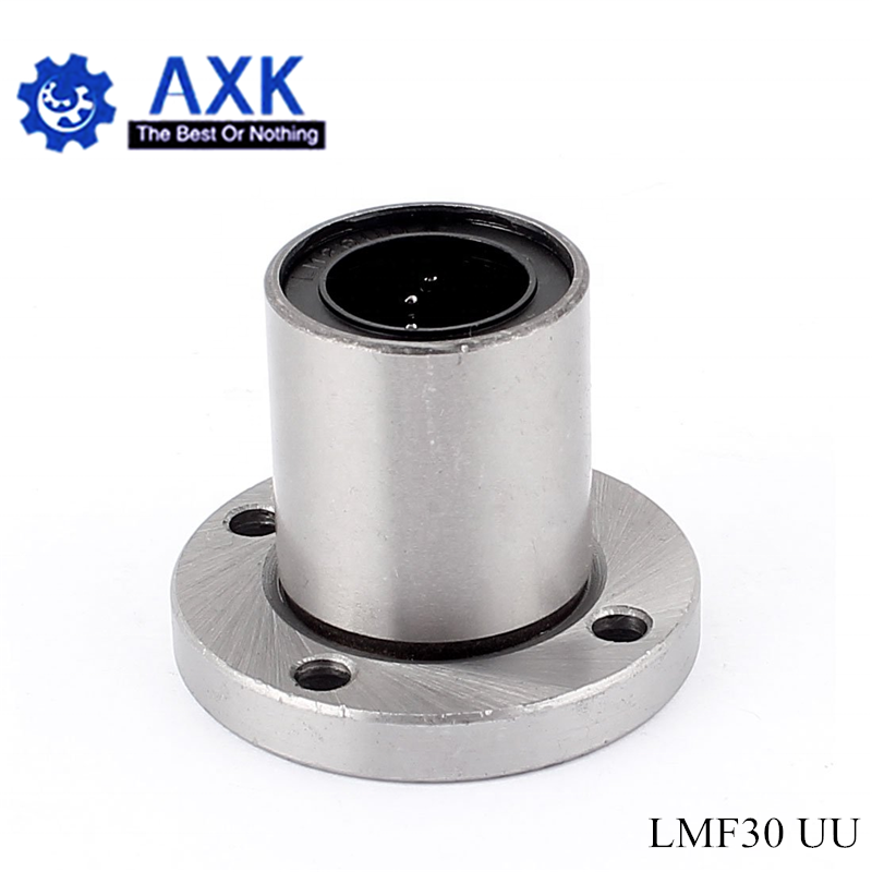 Free Shipping LMF30UU 30mm flange linear ball bearing for 30mm linear shaft CNC|Linear Guides| |  - title=
