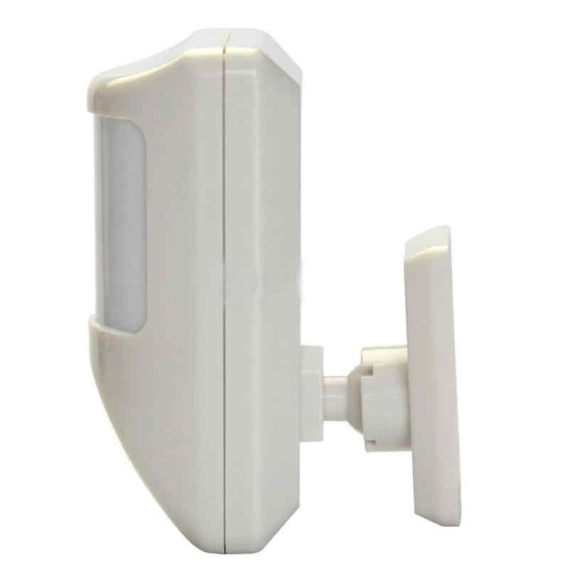 Kablolu PIR hareket dedektörü sensörü ev GSM Alarm sistemi güvenlik koruma ücretsiz Drop Shipping toptan