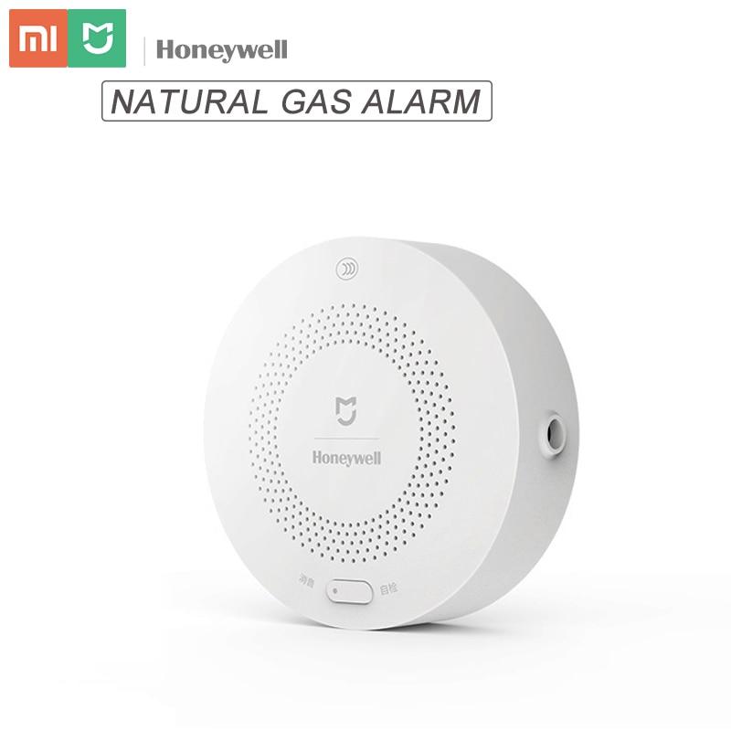 Original Mijia Honeywell Natural Gas Alarm Detector Aqara Zigbee Remote Control CH4 Monitor Security System For