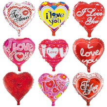 1pc I Love You Foil Balloons Birthday Party Decorations Adult 18inch Red Heart Helium Ballons Wedding Decoration Supplies