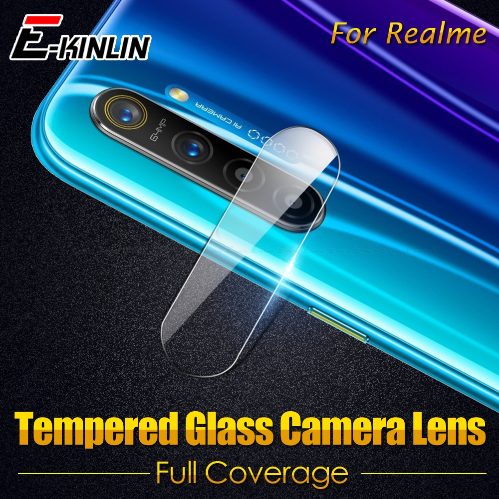 Back Camera Lens Tempered Glass For OPPO Realme 1 2 3i 3 5s 5 Pro C2 Q X2 XT X Lite X50 Screen Protector Protective Glass Film
