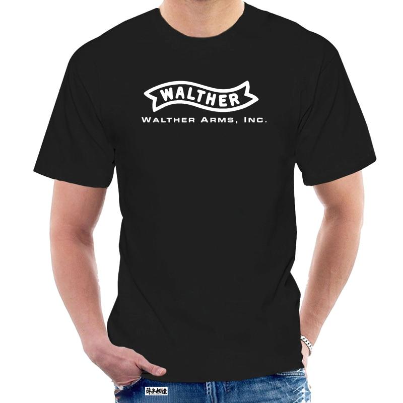 Мужская футболка WALTHER с огнестрельным оружием 2 @ 037621