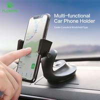 FLOVEME-Soporte Universal para Panel de teléfono con bloqueo automático para salpicadero de coche, parabrisas, soportes móviles con ventosa para iPhone