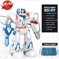 Intelligent Multi functional Smart RC Robot Dancing and Musical RC Robot Electronic Toy Shooting Shots RC Battle Robot Toy Gift