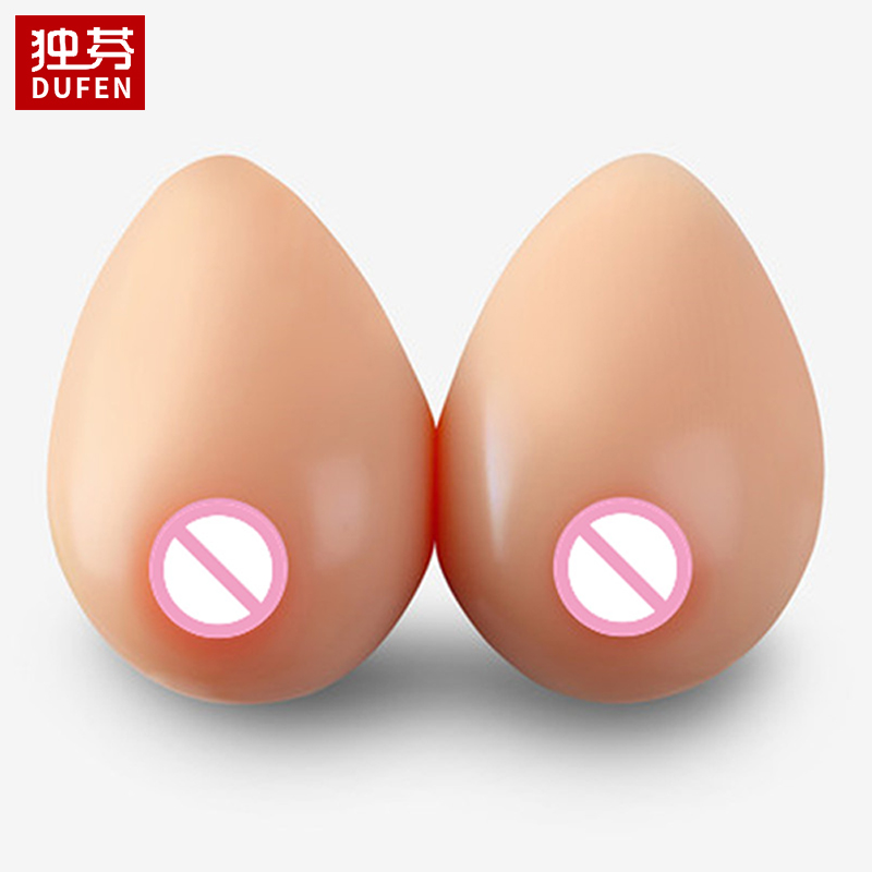 BT Shape Top Quality Silicone Breast Forms For Cross Dressing Artificial Boobs Cosplay Props Crossdresser