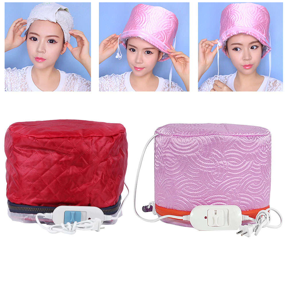 3 Modes Adjustable Hair Steamer Cap Dryers Electric Hair Heating Cap Hat Salon Home Use DIY Hair SPA Nourishing Styling Tools