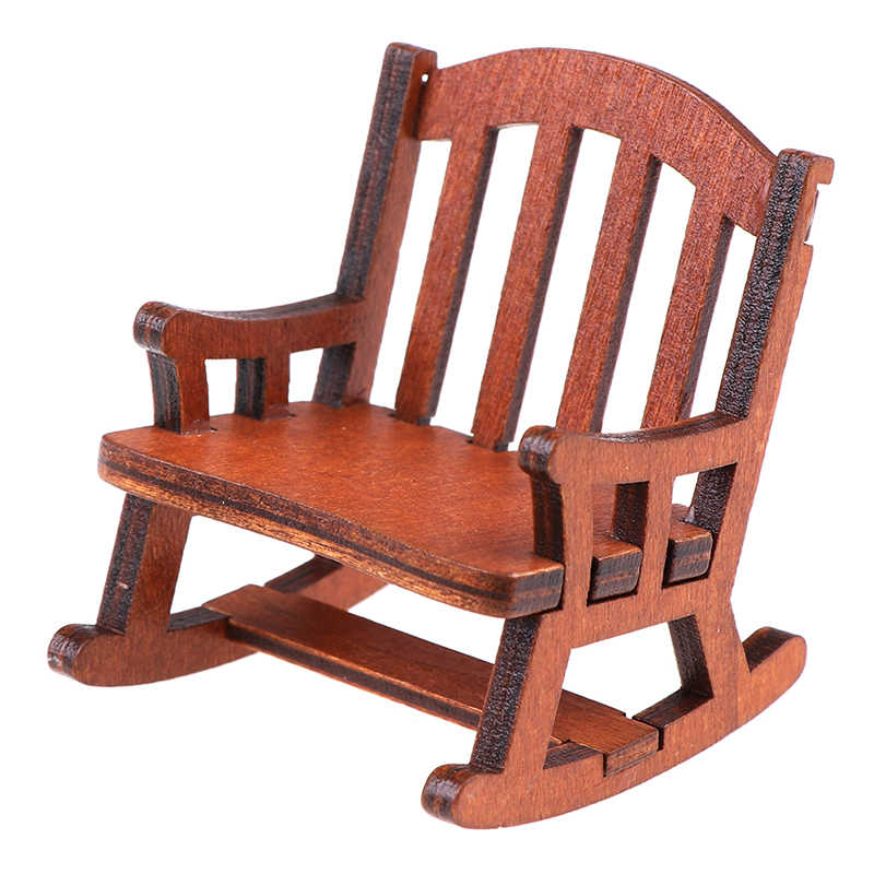 Outdoor Furniture Wooden Rocking Chair Rustic American Country