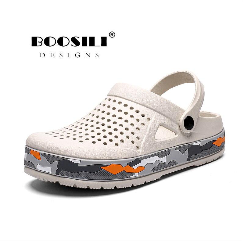Image 3 - Sapato Feminino جديد رجل إيفا صندل عالية الجودة الرجال حذاء للحديقة الصيف الصنادل تنفس قباقيب خفيفة الوزن حجم كبير 45صنادل رجاليةأحذية -