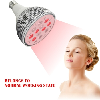 24W Infrared Therapy Health Care  Red Led Light Skin Pain Relief Massage Body Neck Shoulder Back Heating Lamp Bulb Physiotherapy