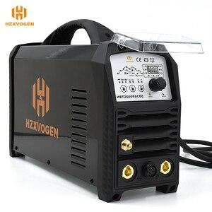 Image 4 - HZXVOGEN soldador de arco Tig MMA TIG200P, inversor de soldadura de aluminio AC DC, equipo de soldadura, máquina de Control de larga distancia funcional