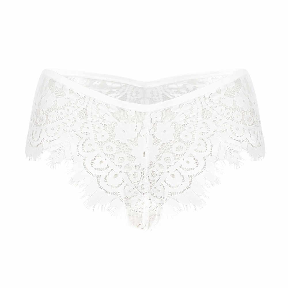 Panas Dijual Musim Gugur Mid-Rise Renda Warna Solid Empuk Mulus Trendi Pakaian Dalam Celana Dalam Pakaian Dalam Wanita Nilon Celana Bragas mujer