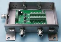 Wiegen Transmitte WTA15 Vier Kanäle Eingang Intelligente Digitale Typ 4 20mA/0 5 V/0 10 V|Steckverbinder|Licht & Beleuchtung -