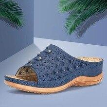Orthopedic Sandals Women Bunion Corrector Girl Premium Orthopedic Open Toe Sandals Comfy Platform Flat Sole Toe Foot Correction