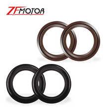 41 54 Motorcycle Parts Front Fork Damper Oil Seal For Kawasaki ZZR400 Z1000 KDX125 ZR400 For Suzuki GSX750F GSXR750 GSX1100F