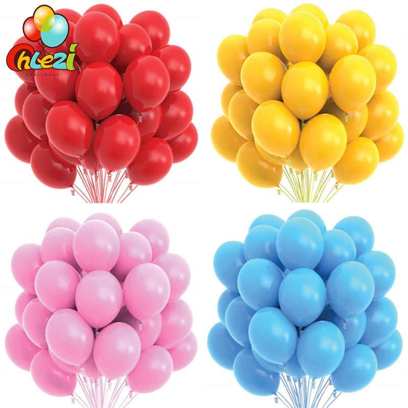 10/20 Pcs Goud Zwart Roze Latex Ballonnen Verjaardagsfeestje Decoraties Volwassen Bruiloft Decoraties Helium Globos Baby Shower Ballon