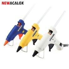 Hot-Melt Heat-Temperature-Tool NEWACALOX Guns Glue-Gun Electric Industrial 20W with 20pc