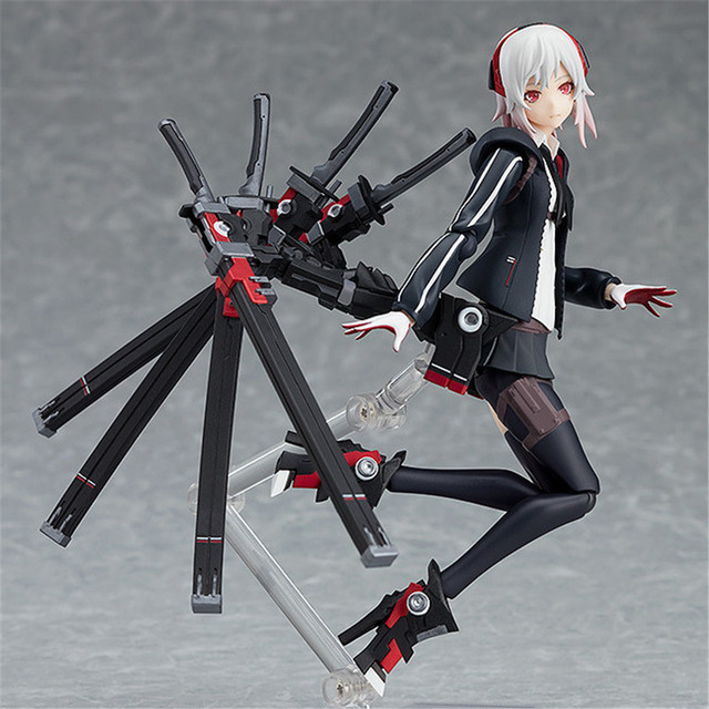 Heavy Soldier Type Female 422# Figure High School Student Girl PVC Figma Action Figure Collection Model Toy Gift 15cm NEW Anime 3