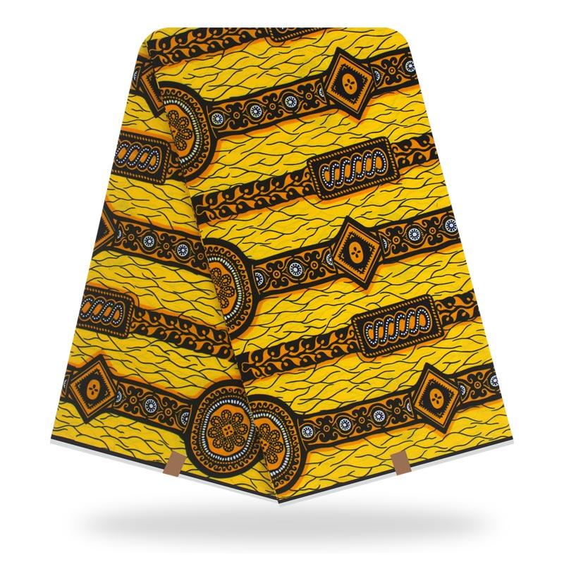 African Wax Cotton Fabric DIY Cloth High Quality African Wax Print Dutch Wax For Sewing 6 Yards Ankara Cotton Fabric