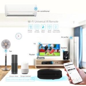 Image 4 - Tuya casa inteligente wifi ir controle remoto de voz ar condicionado caixa tv via alexa google sem fio universal ir controlador
