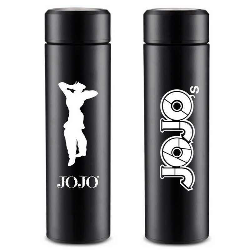 アニメジョジョの奇妙な冒険九条丈太郎コスプレプロップステンレス鋼水カップ旅行ボトルティーンコーヒードリンクサーモカップ