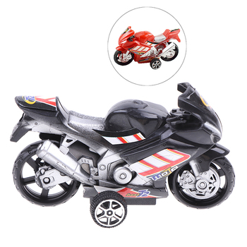 Children Collection Gift Decor Cool Model Toy Off-road Vehicle Simulation Plastic Diecast Motorcycle 9.8x5.7cm 1:18 Car Type - image