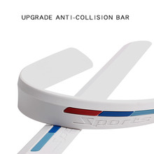 Silicone Anti collision Bar Strip For Niu M1 N1 N1S Universal Type Electric Scooters Potection Anti scratch Bar Sticker Strips
