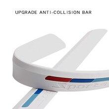 Tira de silicona anticolisión para patinetes eléctricos, barra de rascar de silicona anticolisión para Niu M1 N1 N1S, tipo Universal