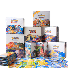 324/360Pcs Pokemon card toy TCG Sword & Shield Vmax GX Booster Box English French version Collectible Trading Card Game kid toy