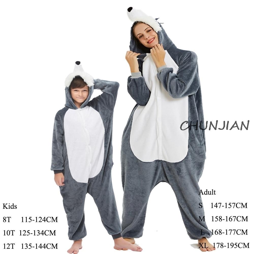 Pijamas da família do unicórnio do arco-íris das mulheres roupas dos homens animal dos desenhos animados pijamas cobertor adulto