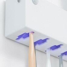 Youpin אינטליגנטי עיקור מברשת שיניים מחזיק אנטי Uv מברשת שיניים חיטוי בשימוש בסוגים שונים של מברשות שיניים