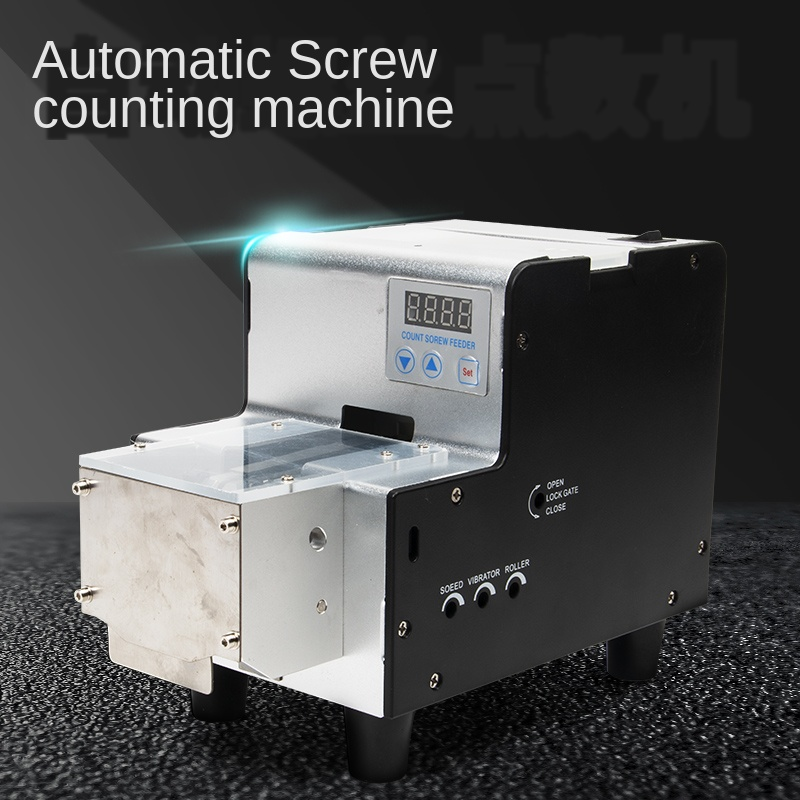 Automatic Screw Counting Machine ZY-530S Belt Hopper Screw Point Counting Machine With Silo Screw Point Counting Machine