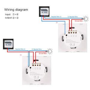 Image 5 - スマートライトスイッチワイヤレス壁インタラプタタッチ制御無線lanスイッチと互換性alexa googleアシスタントifttt android