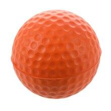 ПУ мяч для гольфа обучение мягкая пена мячи - оранжевый