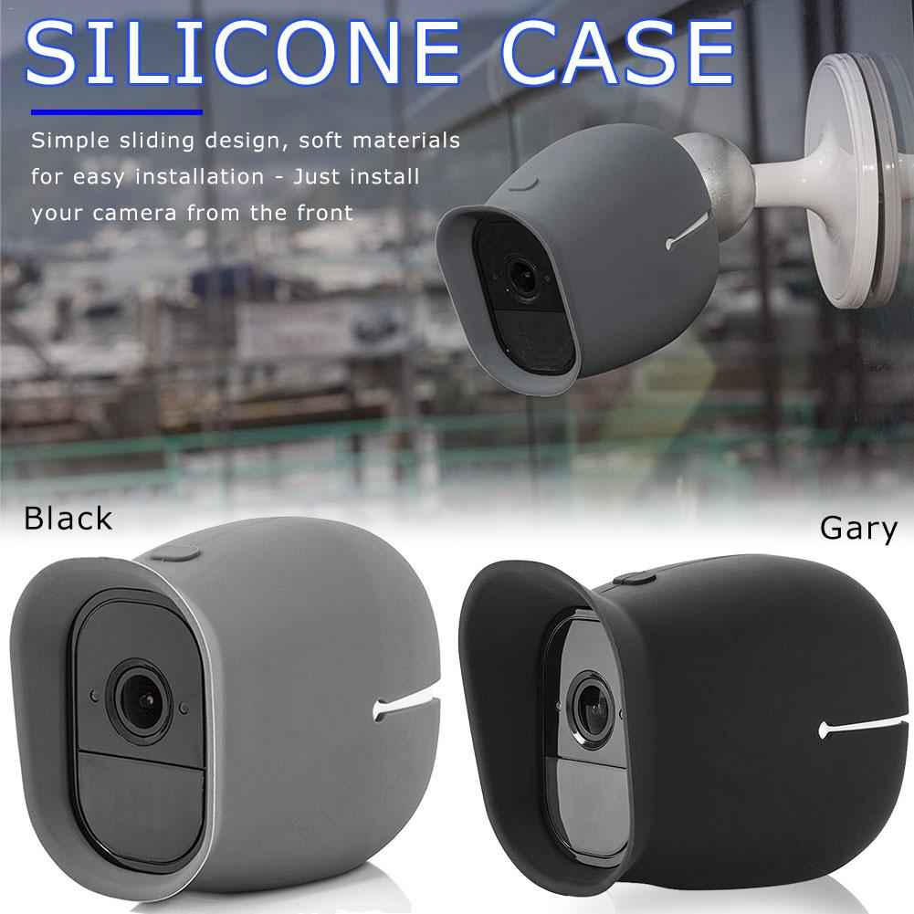 Silicone Camera Shield Smart Security Skin Waterproof For Arlo Pro & Arlo Pro 2 Case Universal Protective Sleeve