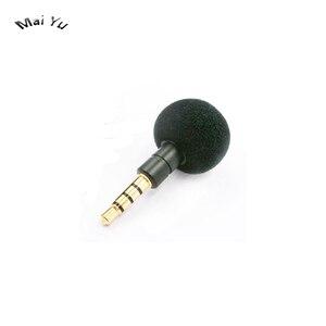 Image 1 - Новый мини мобильный телефон, микрофон, скрытая компьютерная игра, конденсаторный микрофон, запись для большинства камер телефона, DV 3,5 мм, стерео