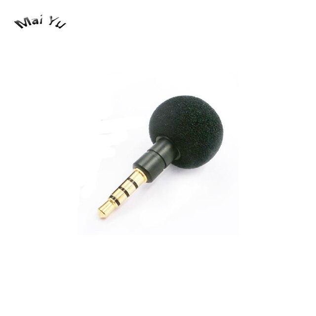Новый мини мобильный телефон, микрофон, скрытая компьютерная игра, конденсаторный микрофон, запись для большинства камер телефона, DV 3,5 мм, стерео