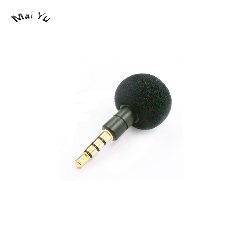 New Mini Mobile Phone Microphone Hide Computer Game Microfone Condenser Recording For Most Phone Camera DV 3.5mm Stereo