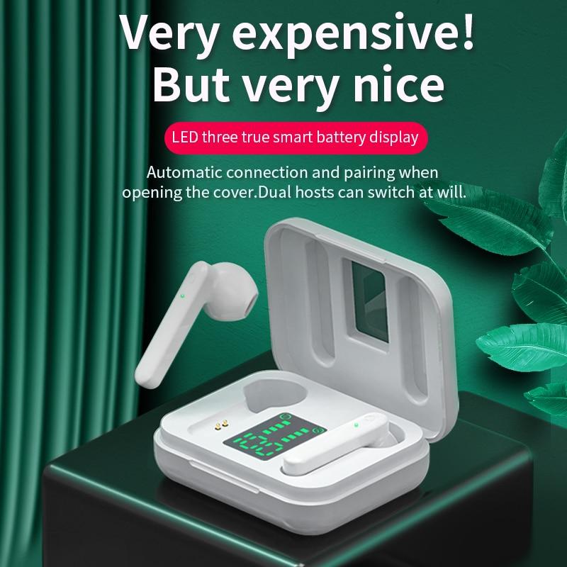 NBX Mini TWS Bluetooth 5 1 Earphones Wireless Headphones Hifi Stereo Sports Waterproof Wireless Earphone Headset With Microphone
