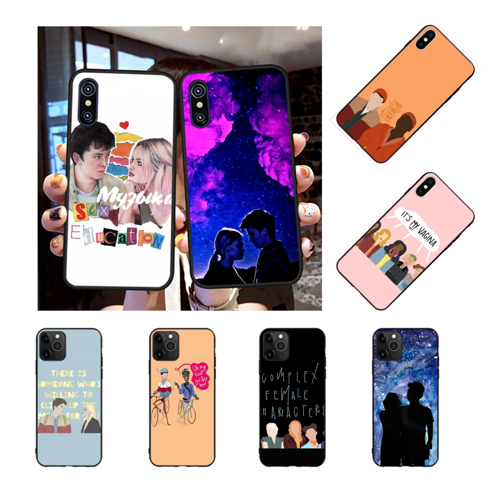 NBDRUICAI <font><b>sex</b></font> education Phone <font><b>Case</b></font> for <font><b>iPhone</b></font> 11 pro XS MAX 8 <font><b>7</b></font> 6 6S <font><b>Plus</b></font> X 5S SE XR <font><b>case</b></font> image