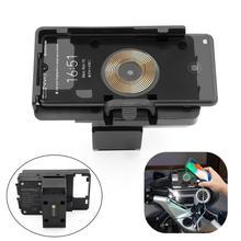 Adatto per BMW R1200RT R1250RT navigatore GPS caricatore USB staffa di navigazione per telefono cellulare 2 in 1 ricarica wireless veloce